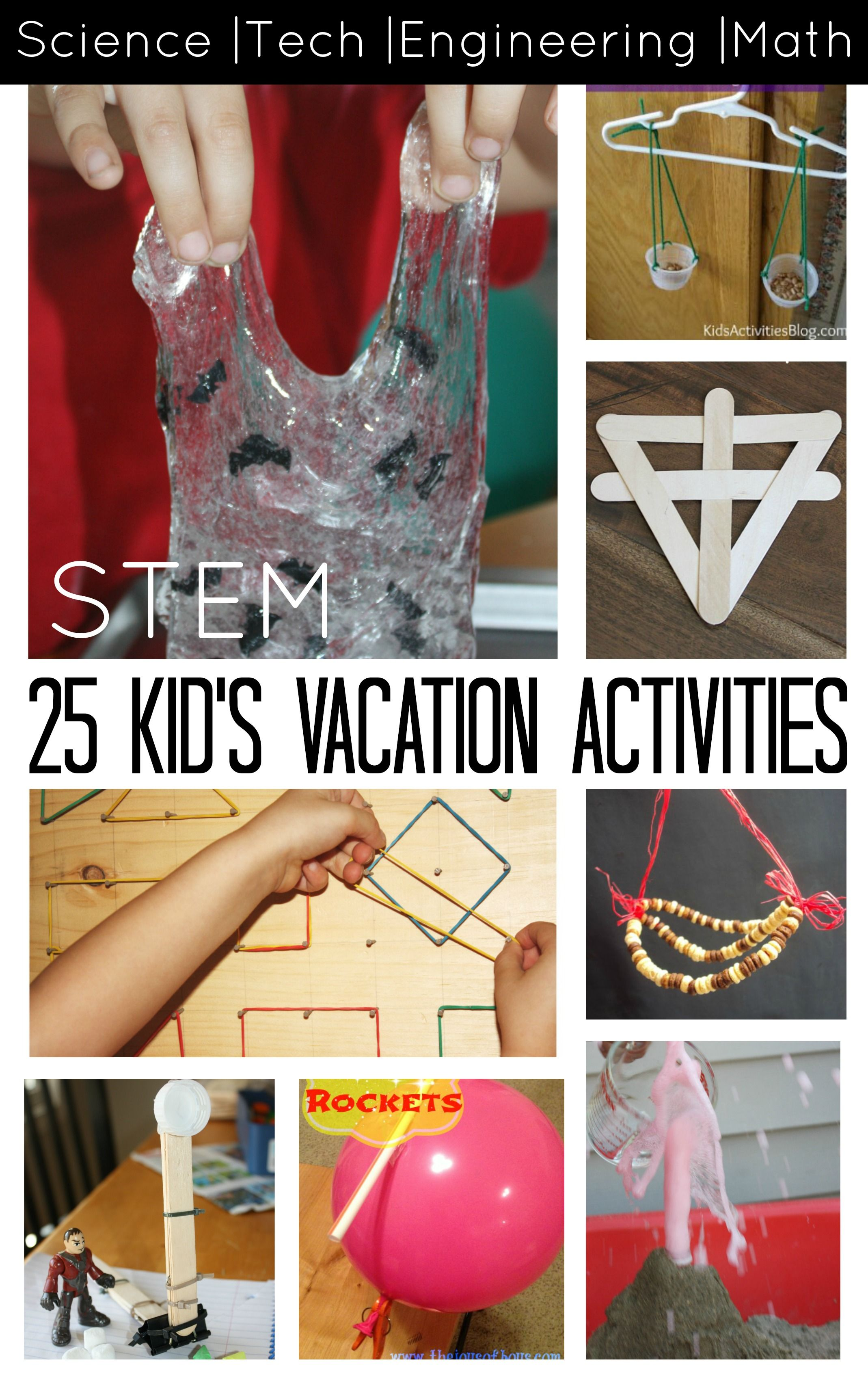 STEM Activities for Kids 25 Screen Free Ideas