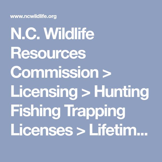 Nc wildlife resources commission licensing hunting fishing nc wildlife resources commission licensing hunting fishing trapping licenses lifetime license lifetimelicensestypes publicscrutiny Images