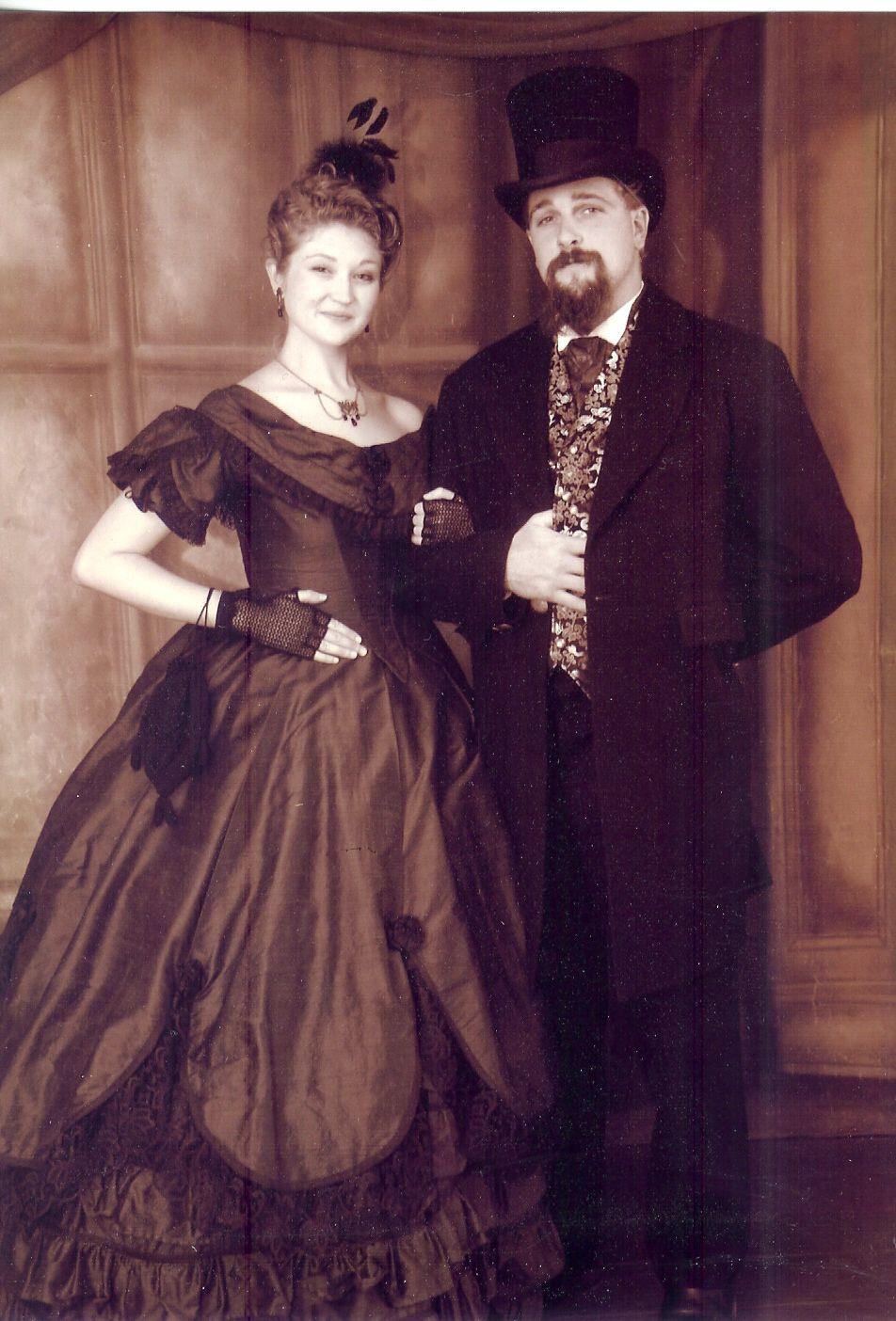 Silk Ball Gown, Civil War America | Historical LARP | Pinterest ...