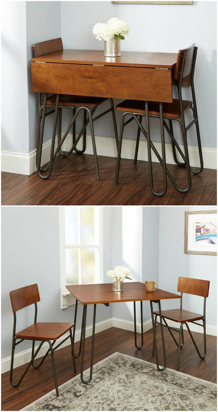 These 12 Dining Tables Are Excellent Solutions For Small Spaces Living In A Shoebox Dining Table Small Space Small Dining Table Dining Room Small