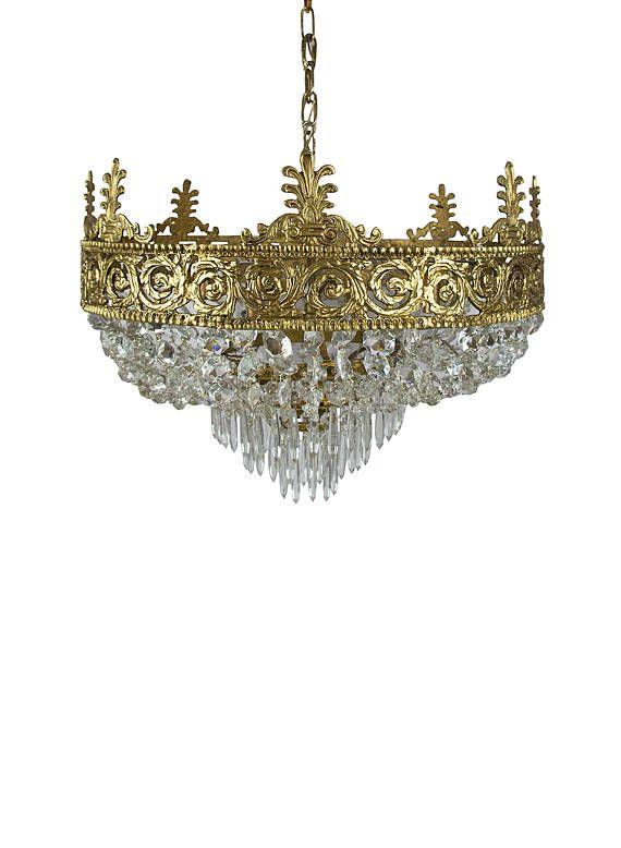 Antique chandelier, Art deco chandelier, Empire chandelier, Vintage  chandelier, Brass chandelier, - Antique Chandelier, Art Deco Chandelier, Empire Chandelier