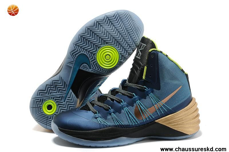 Kyrie Irving Mineral Teal / MetTousic Rouge Bronze / Volt Nike Hyperdunk  2013 Vente