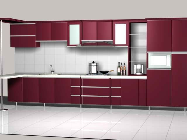 Image Result For Maroon Color Kitchen Cabinets  Kitchen Cool Model Kitchen Designs Design Ideas