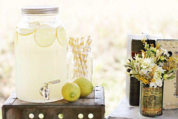 lemon themed wedding