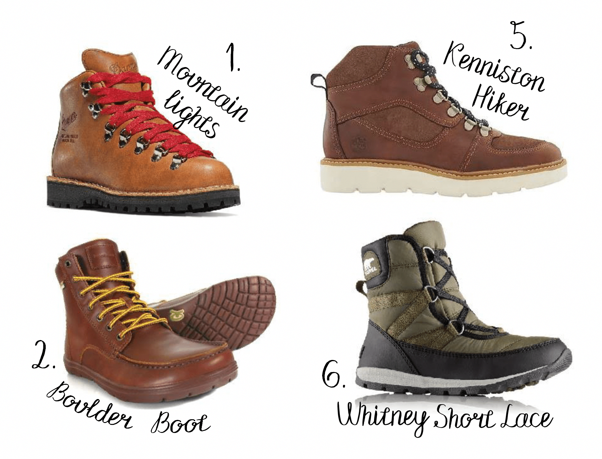 Best Womens Hiking Boots | All White