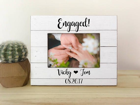 Personalized Engagement Frame. Proposal Frame. Engagement Party Gift ...