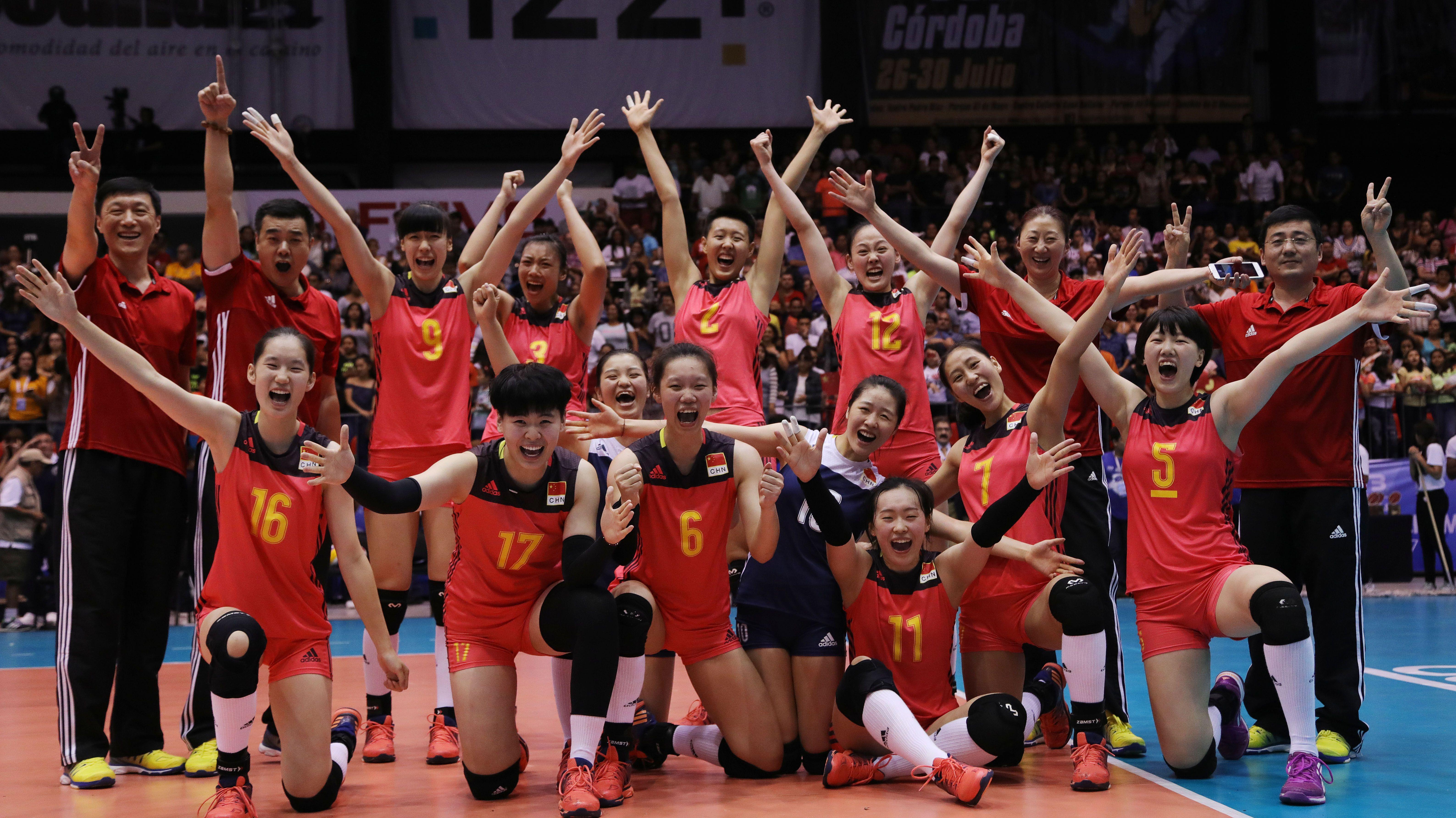 News Detail China Win Women S U20 World Championship Title Fivb Volleyball Women S U20 World Championship 2017 China Volleyball Team Pinterest World