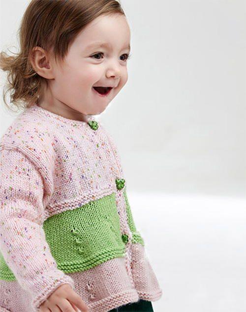 Photo of Easy Cute Baby Cardigan