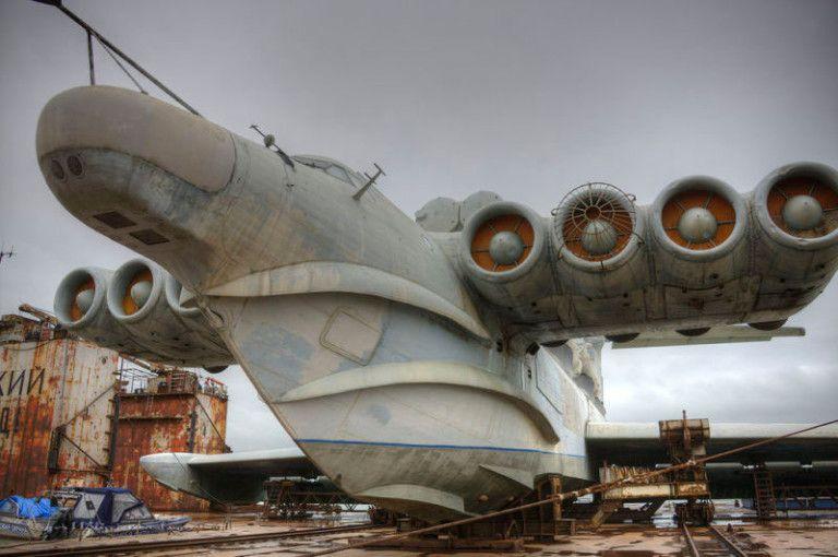 12 Vehicules Sovietiques Qui Semblent Sortir D Un Film De Science Fiction Hydravion Bateau Volant Avion De Chasse