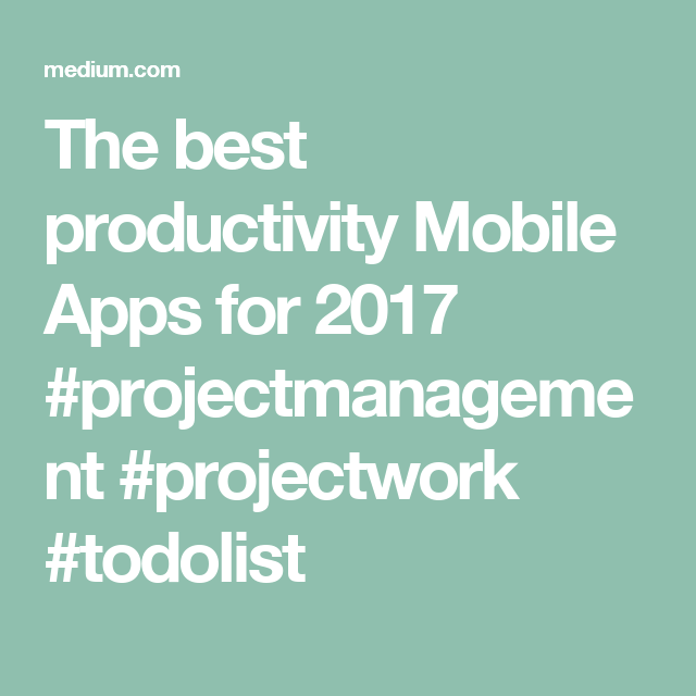 The 3 Best Todo Lists For Staying Productive: Todoist