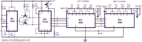 Stupendous Volume Control Circuit Electronic Design Basic Electronics Wiring Wiring Digital Resources Remcakbiperorg