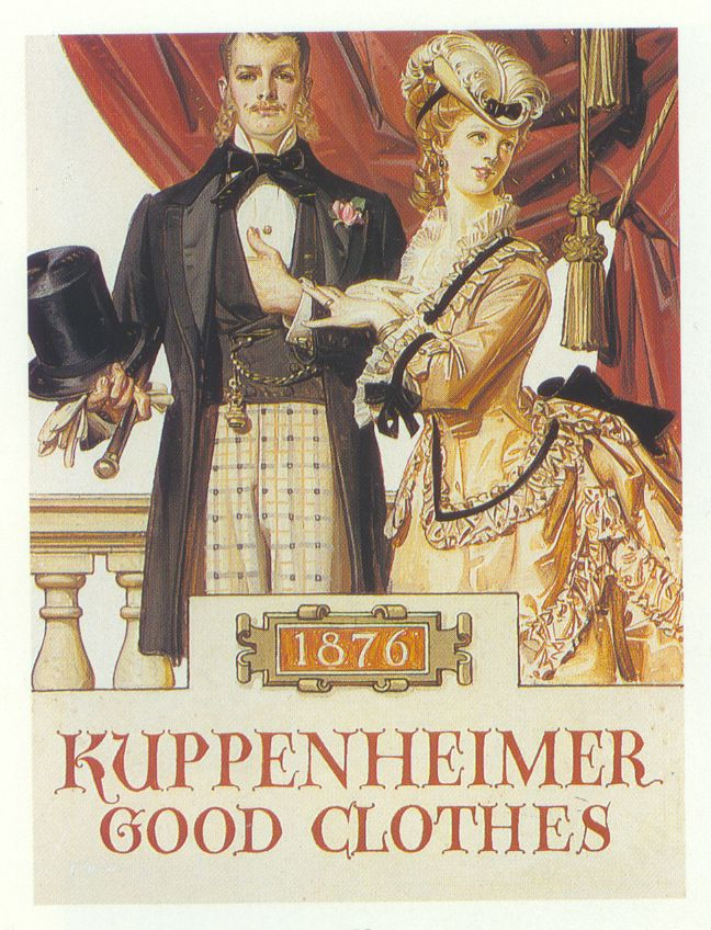 J C Leyendecker Illustration Art For Kuppenheimer Ad 이미지 포함 고전