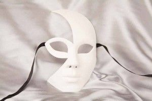 Plain White Masks To Decorate Blank Mask To Decorate  Luna  Wigs  Pinterest  Blank Mask