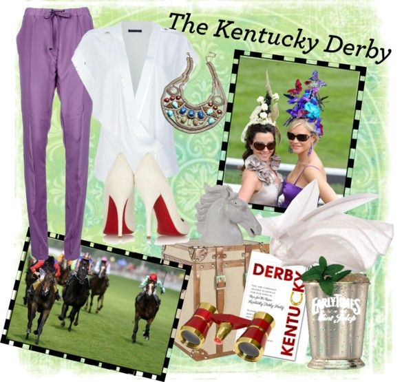 """Kentucky Derby"" By Buttonbaby Liked On Polyvore"