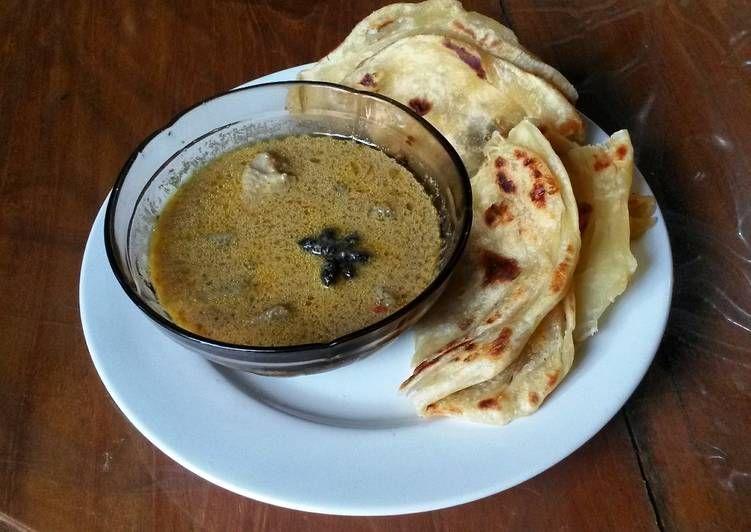 Resep Roti Canai Dan Kuah Kari Oleh Rocha Novalina Resep Rotis Resep Resep Roti