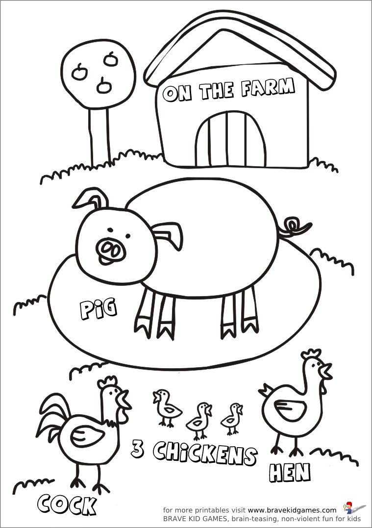 worksheet Farm Animal Worksheets 1000 images about contagem on pinterest count preschool worksheets and preschool