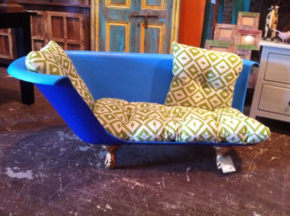 serious coolness bathtub sofa dog bed from discoveries furniture