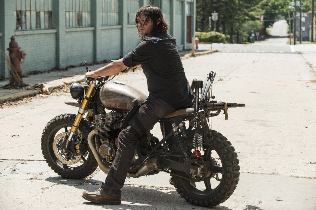 Daryl Dixon Norman Reedus The Walking Dead Tv Series Motorcycle 4k