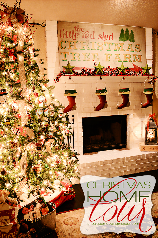 Christmas Home Tour | Vintage and Handmade Holiday Ideas and DIY Projects