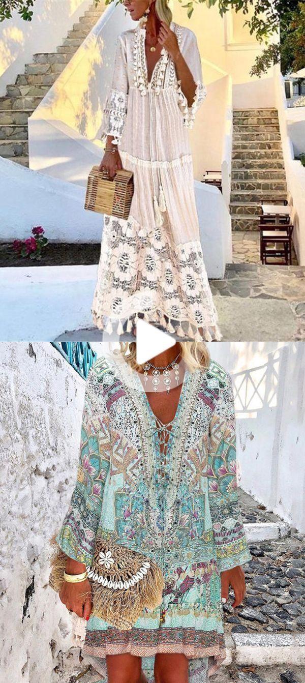 vestidos mujer para boho cordón del estilo in 2020 | boho