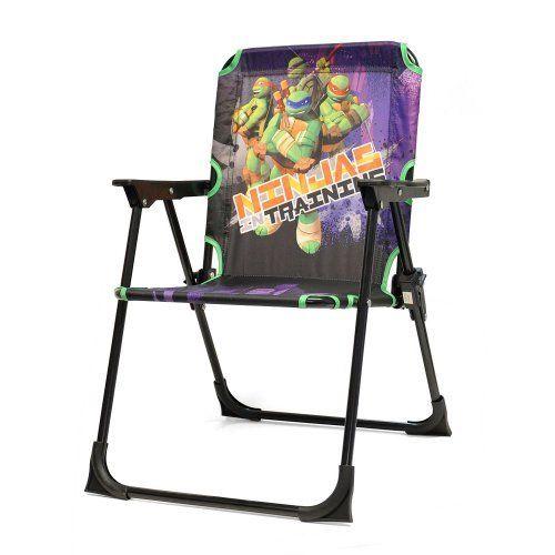 Kids Outdoor Chairs Teenage Mutant Ninja Turtles Folding Patio