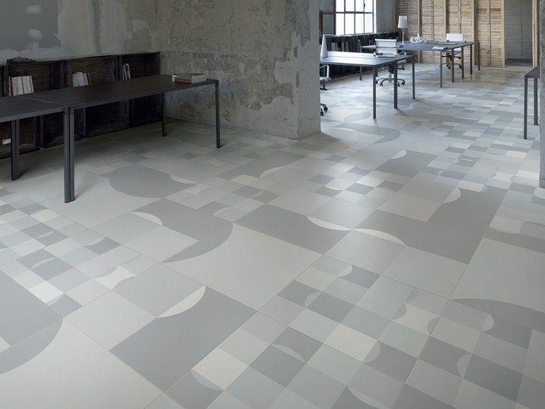 Revêtement de sol en grès cérame square by ceramiche refin design studio fm milano