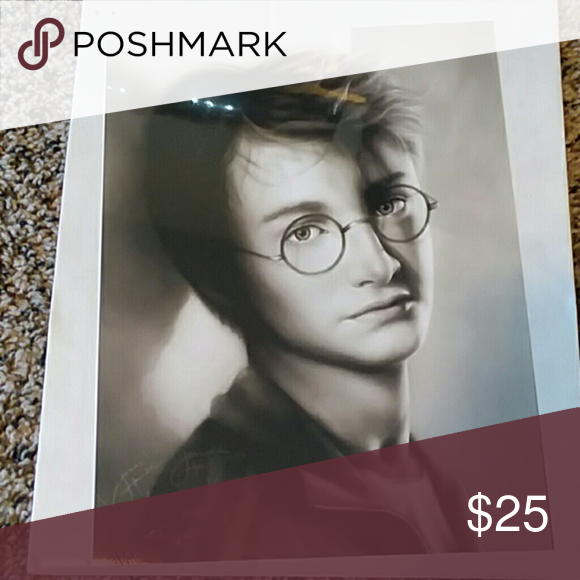 Photo of Daniel Radcliffe print Print I bought but never framed or even unwrapped. Perfec…