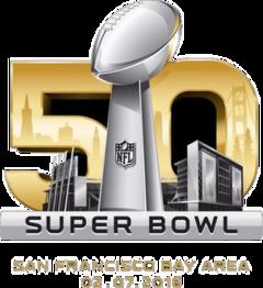 Super Bowl 50 Wikipedia The Free Encyclopedia Super Bowl Disenos De Unas Logos De Futbol