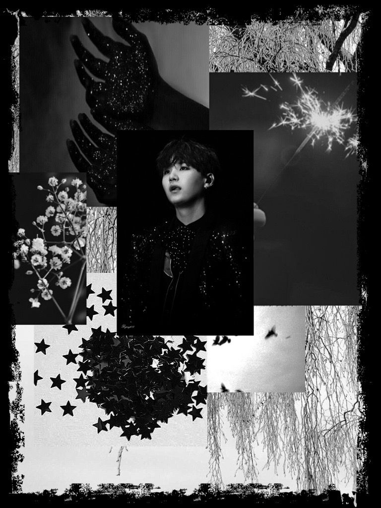 Yoongi Black White Aesthetic Bts Suga Min Yoongi Aesthetic Desktop Wallpaper Black Wallpapers Tumblr Wallpaper Iphone Love