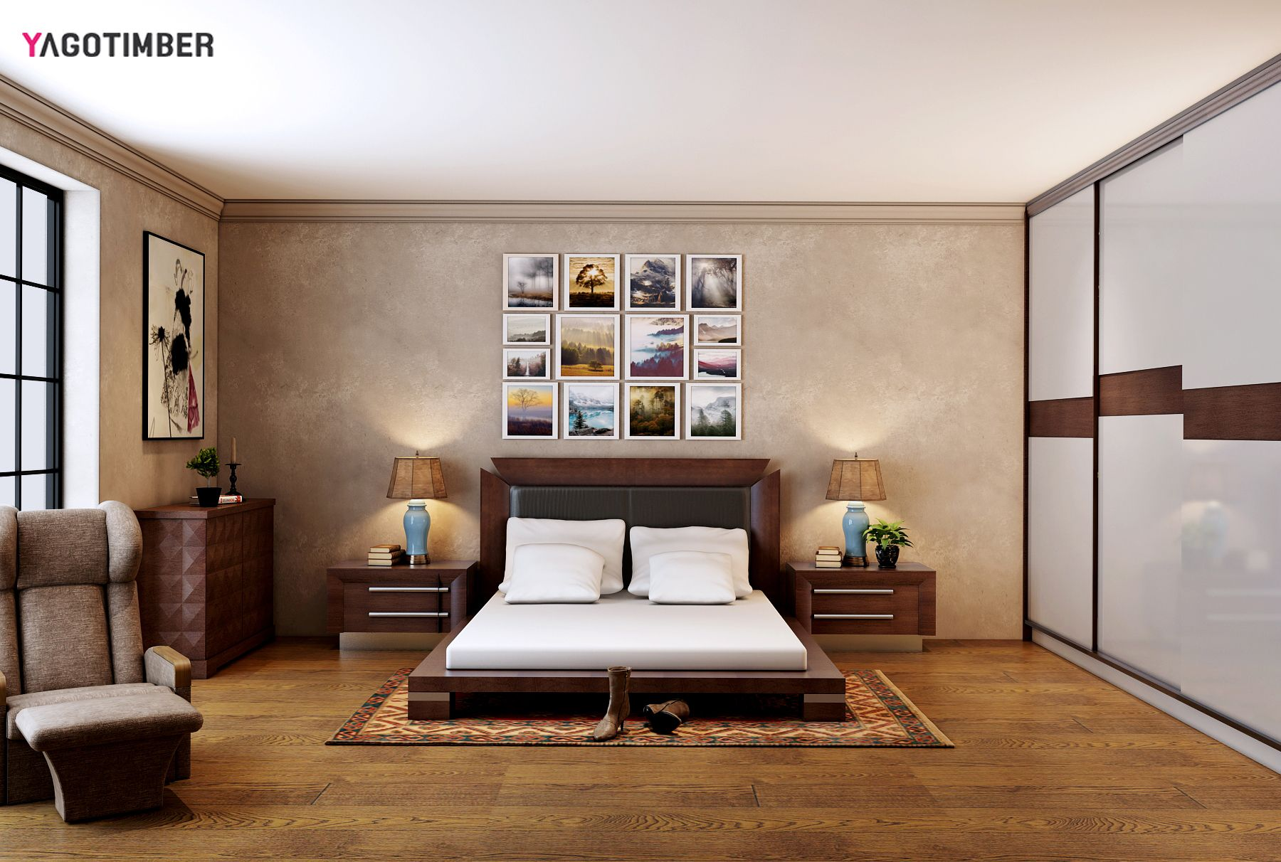 . Get latest Yagotimber s bedroom interior design looks for your  home