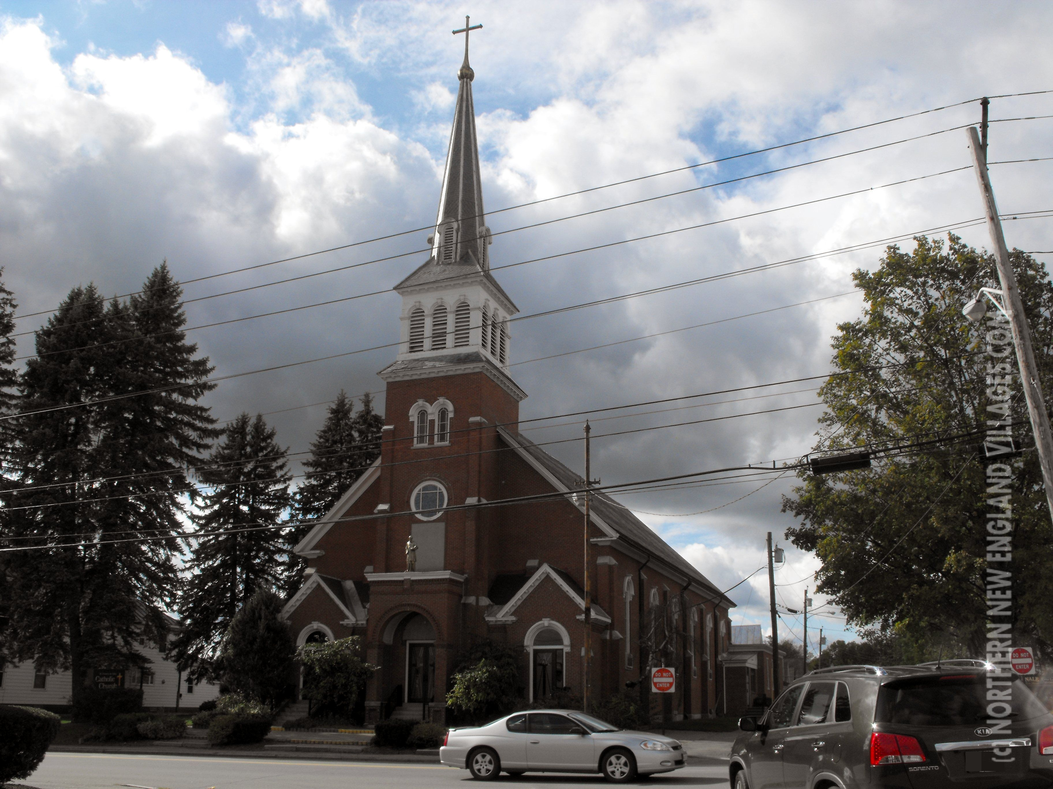Saint Francis De Sales Church In Waterville Maine Is Slated For Demolition To Make Way For Elderly Housing Waterville Waterville Maine Maine