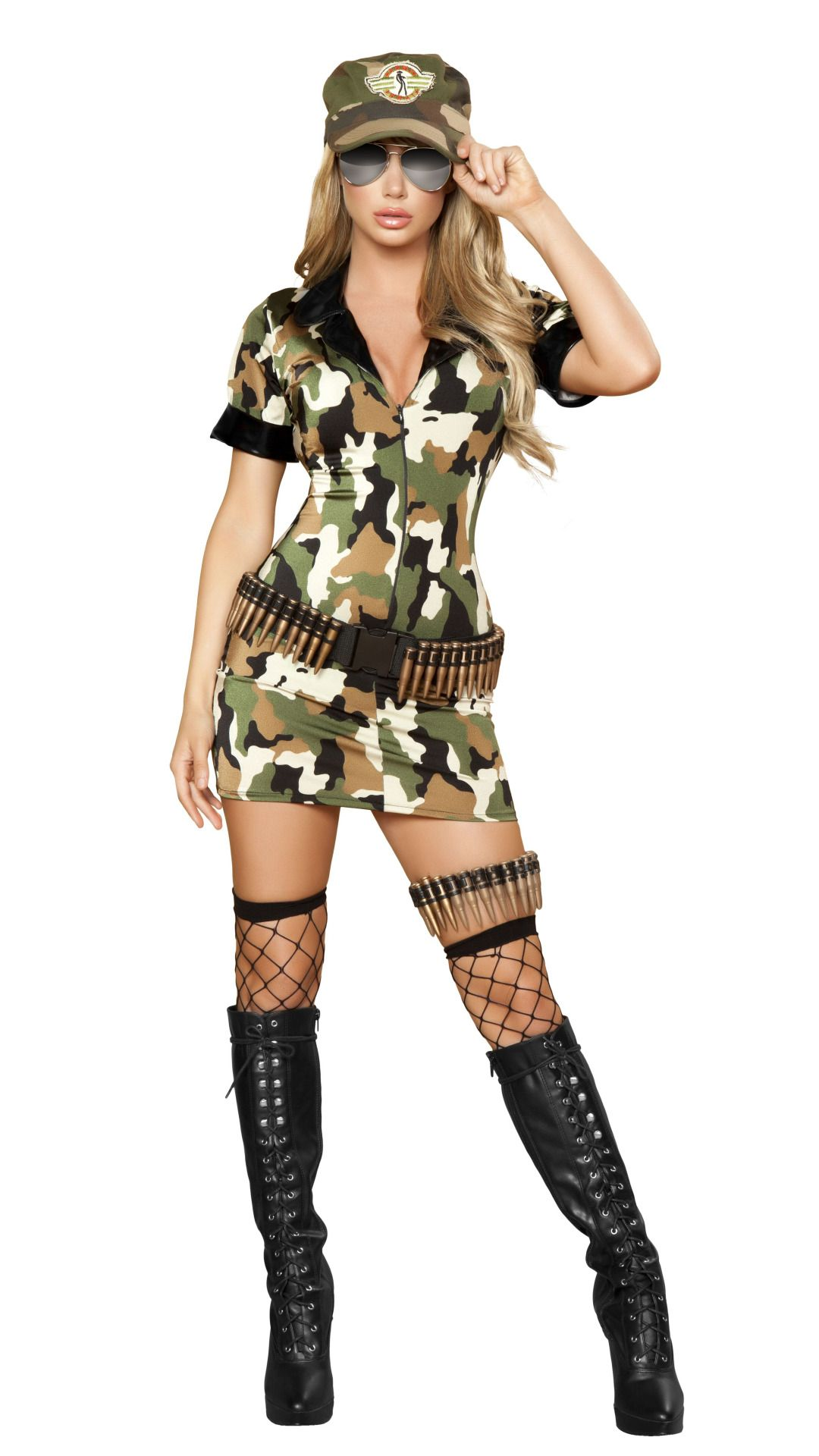 473541c8 Sexy Womens Army Costume, 3 pcs Click picture TWICE to see details &  pricing #halloween #costume #sexycostume #thesexiestlingerie #soldier