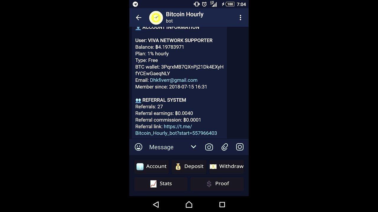 Easily get 2 BTC per daily(upadted 22-08-2108) - telegram bot hack