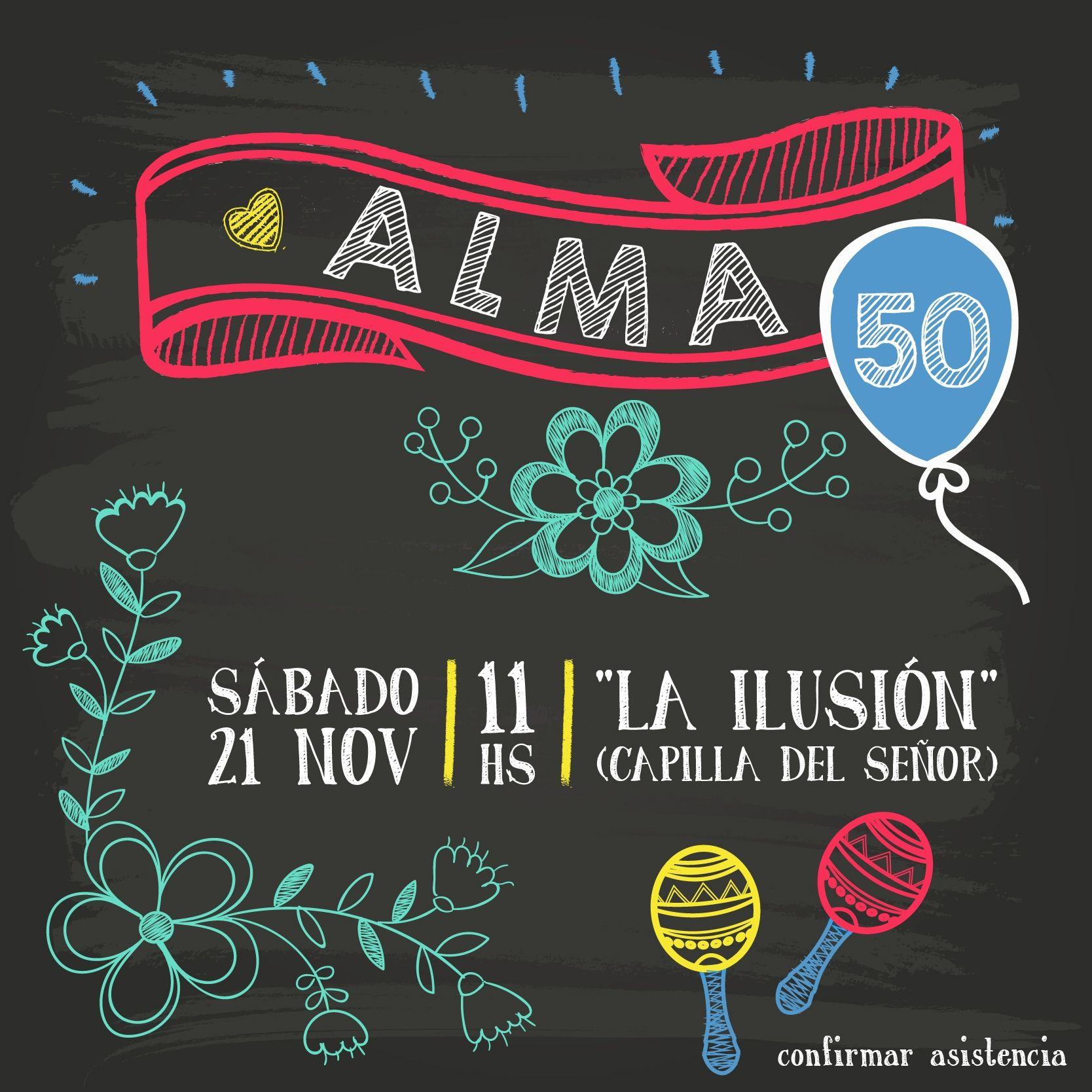 Alma cumple 50 fiesta de cumplea os adultos - Fiestas de cumpleanos para adultos ...