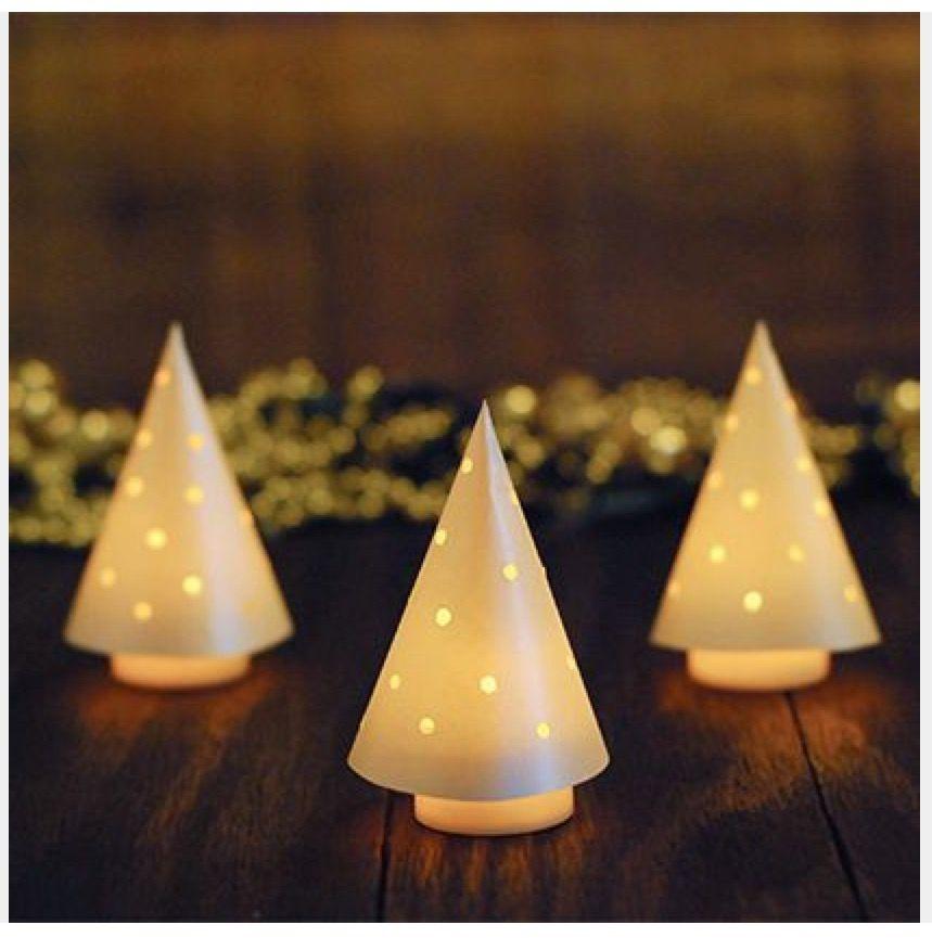 Spoonful Com Paper Over Tea Lights Tea Light Crafts Christmas Crafts Light Crafts