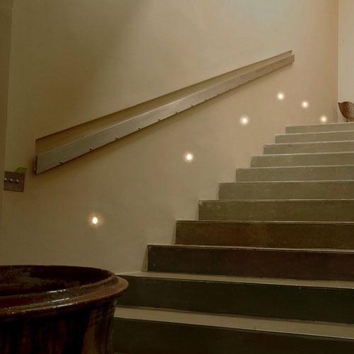 Mini Step Light Cree Led Low Level Wall Lamp Recessed Stair