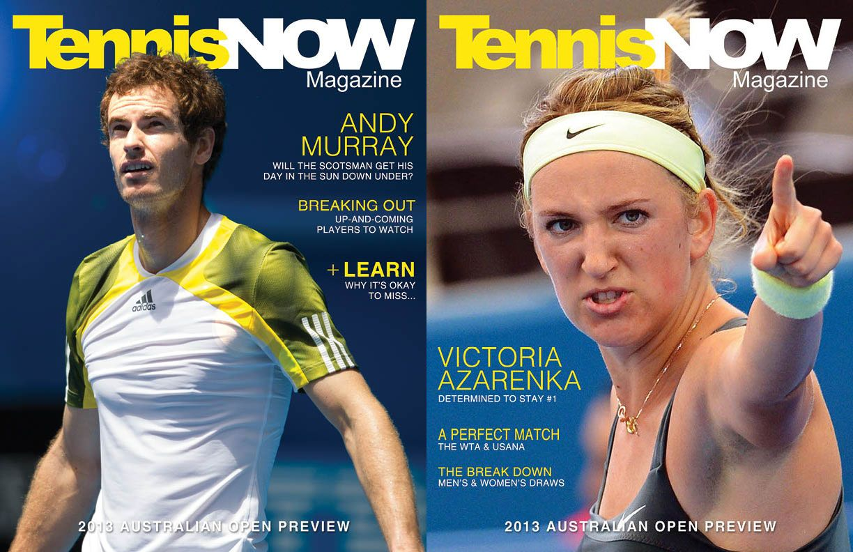 Tennis Now Magazine S Australian Open Preview Is Here Inside We Explored The History Of The Australian Open Who S Tennis Photos Tennis News Now Magazine