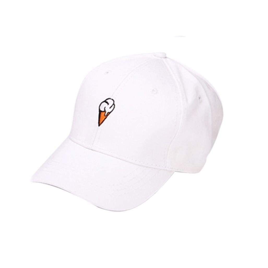 33dbb75c23b Men and Women Baseball Cap – Neartime Icecream Peaked Hat  baseball  sports   funny