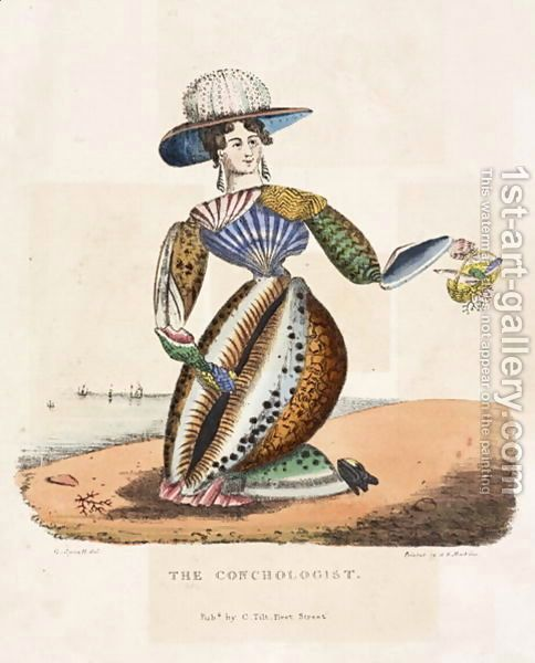 G. Spratt:The Conchologist, c.1831