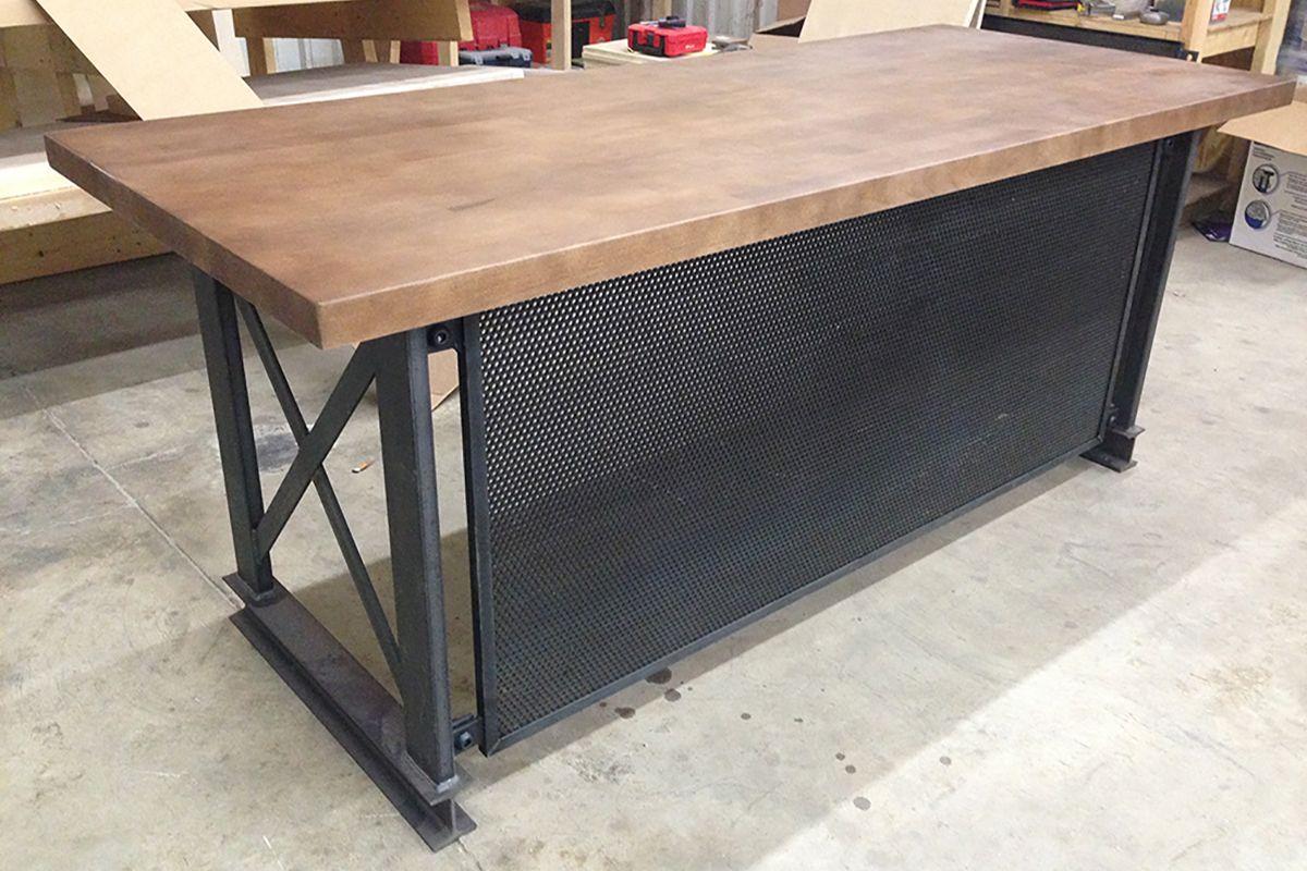 The Executive Carruca Office Desk Industrial Office Furniture