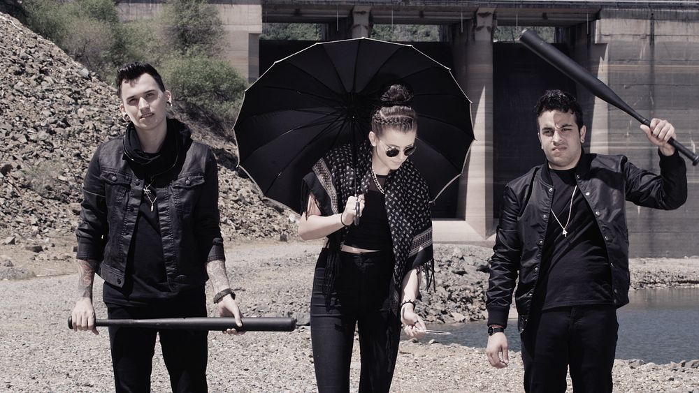 PVRIS St. Patrick music video shoot — Mandie Fenrich