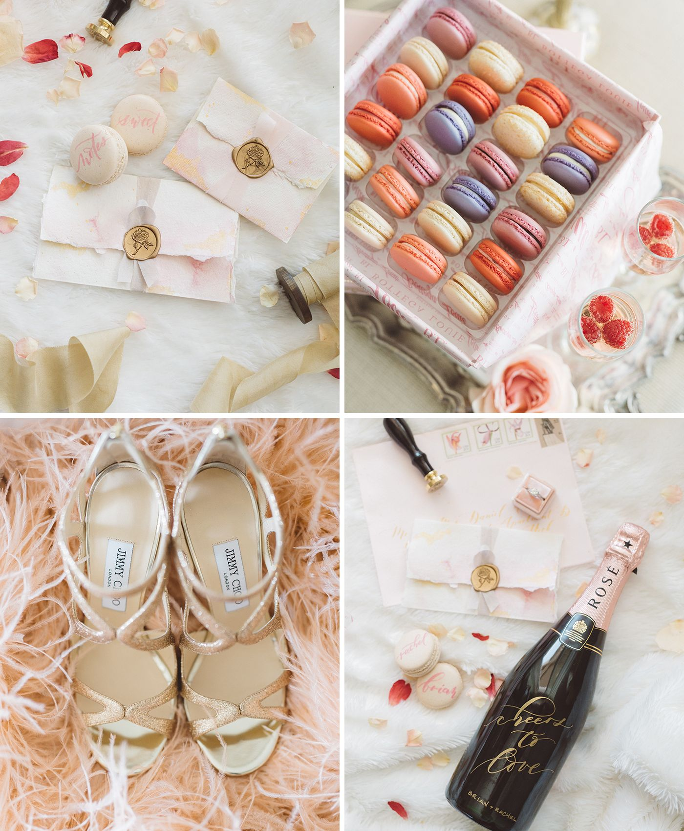 How sweet it is to be loved bride preparation santa