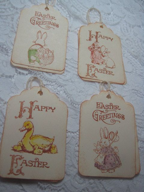 Handmade easter gift tags bunnies and ducks by wkburden on etsy handmade easter gift tags bunnies and ducks by wkburden on etsy negle Gallery