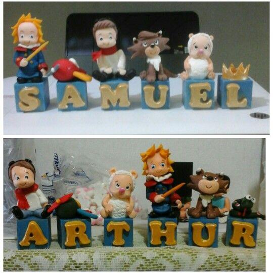 Cubos decorativos Pequeno Príncipe #topodebolo #aniversario #pequenoprincipe