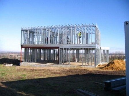 Possibilitée de plusieurs étages en structure métal Maison - plan maison structure metallique