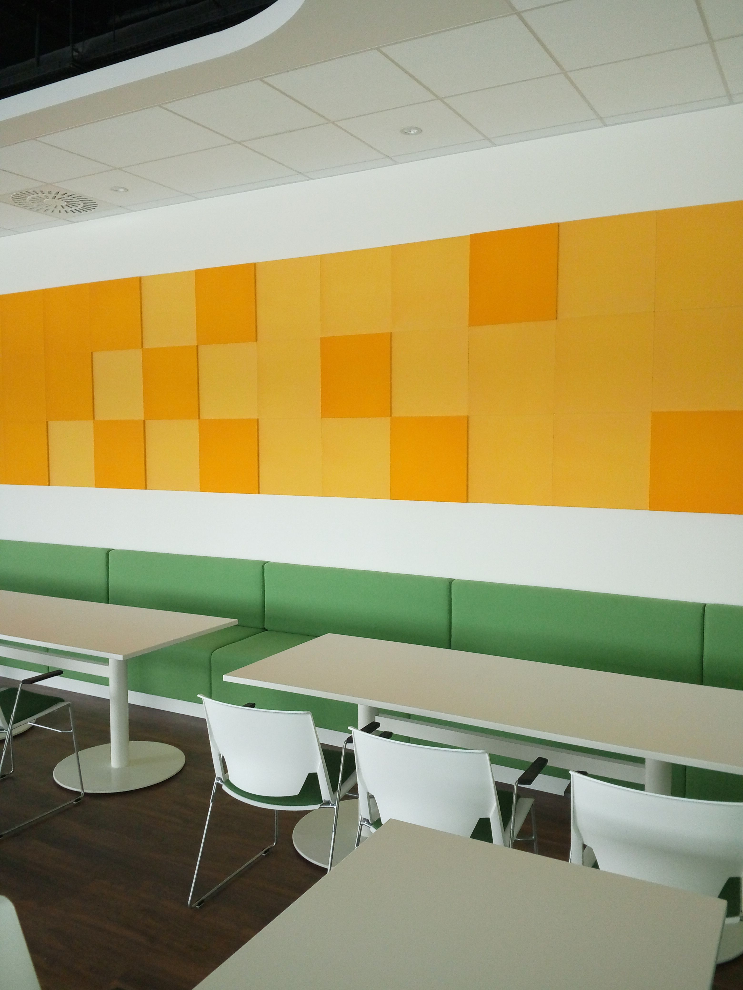 Fluffo Hexa - soft, acoustic wall panels | office acoustic solutions ...