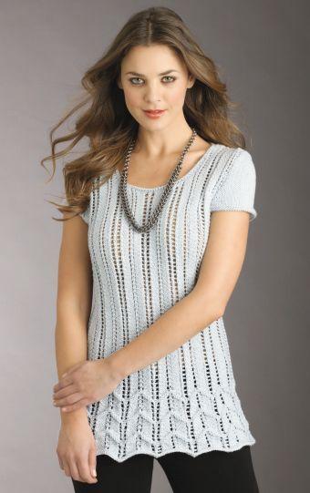 Lacy Chevron Sweater Free Knitting Pattern Free Knitting Patterns