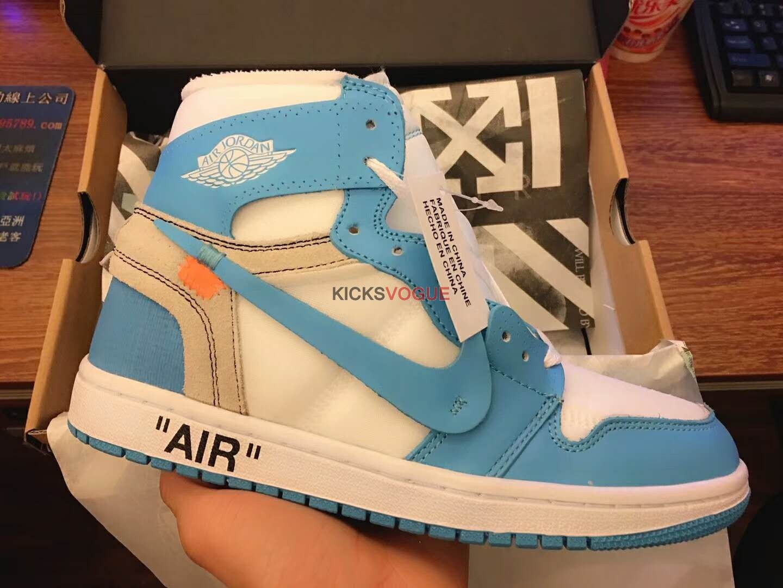 Off White X Nike Air Jordan 1 Retro Og High Unc Nike Off White