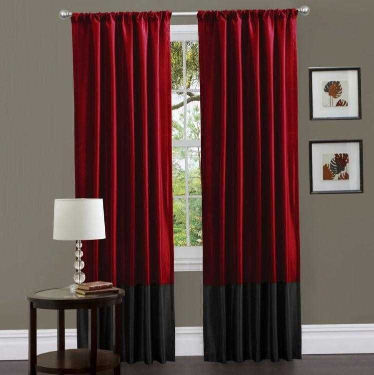 Related Image Red Curtains Living Room Red And Black Curtains Curtains Living Room #red #and #grey #living #room #curtains