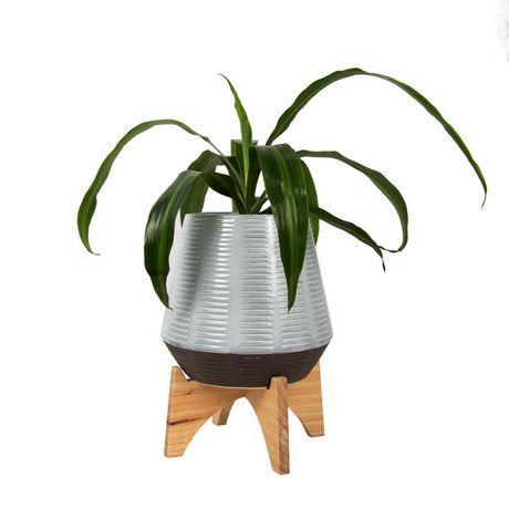 Truu Design Small Artisan Ceramic Planter Grey Mixed Sizes Ceramic Planters Planters Planter Pots